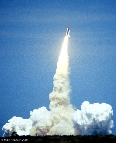 Space Shuttle Challenger Maiden Voyage - picture by SensorPhoto