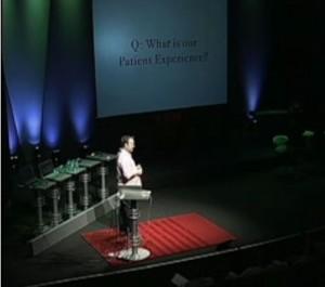 Paul Bennett speaks at TED