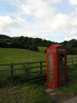 Skenfrith phone box