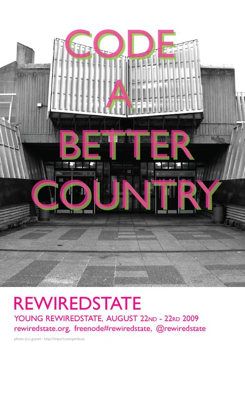 Young Rewired State poster