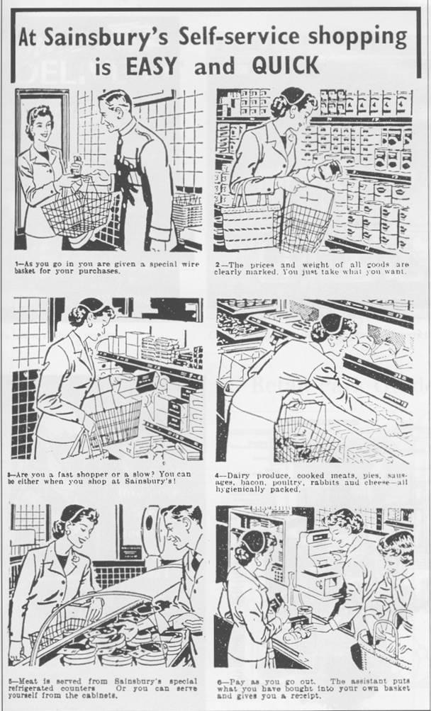 Supermarket self-service