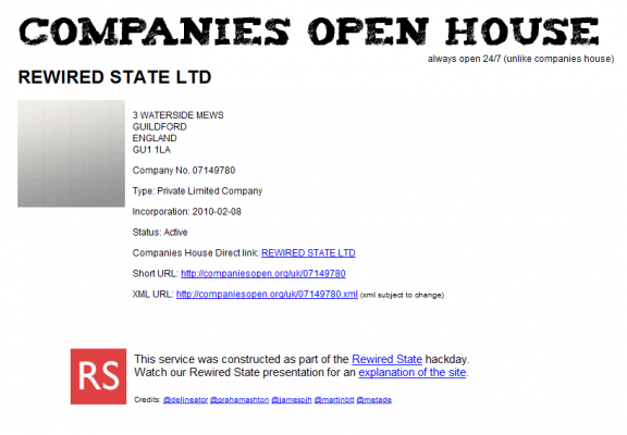 Companies Open House - Rewired State - Recursion