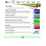 UK Online do it online screenshot
