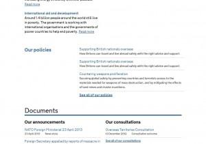 Duplicate link on gov.uk