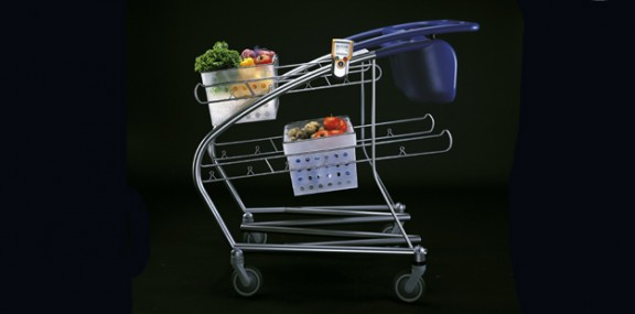 concept shopping trolley