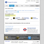 TfL - Live travel news - buses