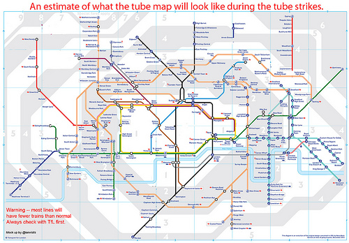 http://www.ianvisits.co.uk/blog/2014/02/03/tube-strike-tube-map/