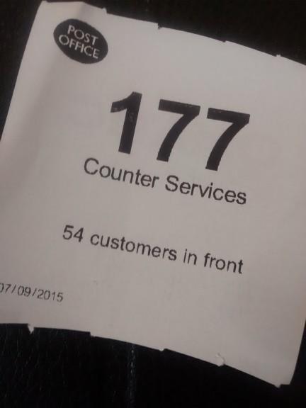 Ticket to queue