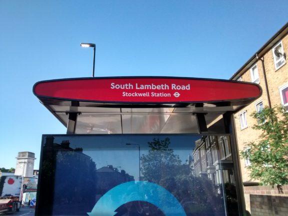 Renamed bus stop